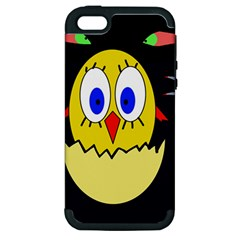 Chicken Apple iPhone 5 Hardshell Case (PC+Silicone)