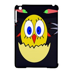 Chicken Apple iPad Mini Hardshell Case (Compatible with Smart Cover)