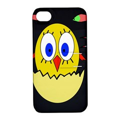 Chicken Apple iPhone 4/4S Hardshell Case with Stand
