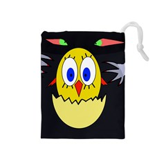 Chicken Drawstring Pouches (Medium)