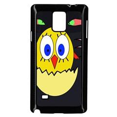 Chicken Samsung Galaxy Note 4 Case (Black)