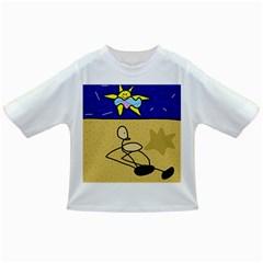Sunbathing Infant/Toddler T-Shirts