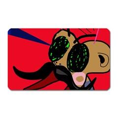 Mr Fly Magnet (Rectangular)