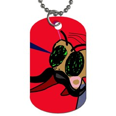 Mr Fly Dog Tag (Two Sides)