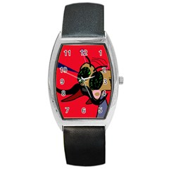 Mr Fly Barrel Style Metal Watch