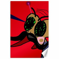 Mr Fly Canvas 24  x 36