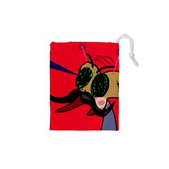 Mr Fly Drawstring Pouches (XS)