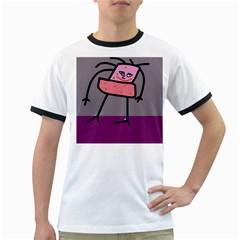 Sponge girl Ringer T-Shirts