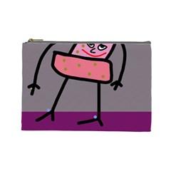 Sponge girl Cosmetic Bag (Large)