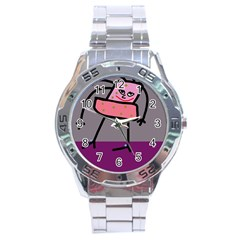 Sponge girl Stainless Steel Analogue Watch