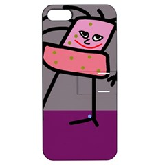 Sponge girl Apple iPhone 5 Hardshell Case with Stand
