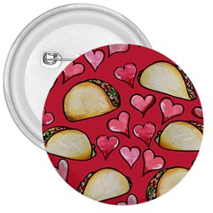 Taco Tuesday Lover Tacos 3  Buttons