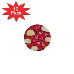 Taco Tuesday Lover Tacos 1  Mini Buttons (10 Pack)