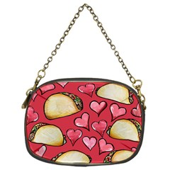 Taco Tuesday Lover Tacos Chain Purses (two Sides)