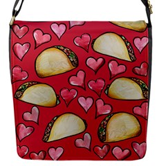 Taco Tuesday Lover Tacos Flap Messenger Bag (s)