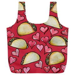 Taco Tuesday Lover Tacos Full Print Recycle Bags (L)
