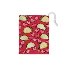 Taco Tuesday Lover Tacos Drawstring Pouches (Small)