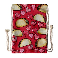 Taco Tuesday Lover Tacos Drawstring Bag (Large)