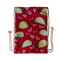 Taco Tuesday Lover Tacos Drawstring Bag (small)
