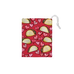 Taco Tuesday Lover Tacos Drawstring Pouches (XS)