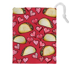 Taco Tuesday Lover Tacos Drawstring Pouches (XXL)