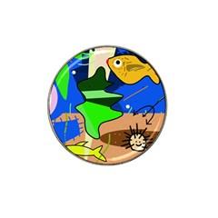 Aquarium  Hat Clip Ball Marker