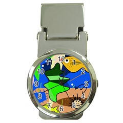 Aquarium  Money Clip Watches