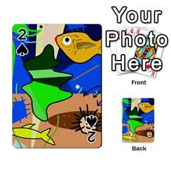 Aquarium  Playing Cards 54 Designs