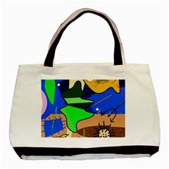 Aquarium  Basic Tote Bag