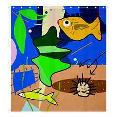 Aquarium  Shower Curtain 66  x 72  (Large)