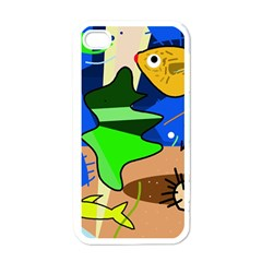 Aquarium  Apple iPhone 4 Case (White)
