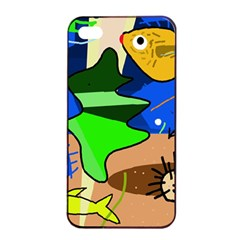 Aquarium  Apple Iphone 4/4s Seamless Case (black)