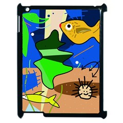 Aquarium  Apple iPad 2 Case (Black)