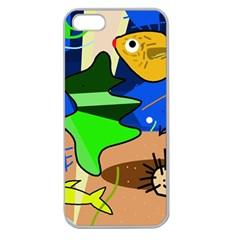 Aquarium  Apple Seamless iPhone 5 Case (Clear)