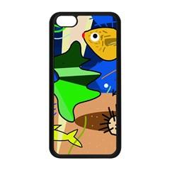 Aquarium  Apple iPhone 5C Seamless Case (Black)