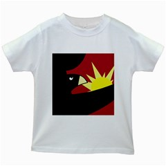 Eagle Kids White T-Shirts