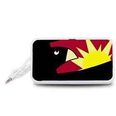 Eagle Portable Speaker (White)