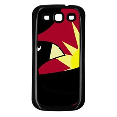 Eagle Samsung Galaxy S3 Back Case (Black)