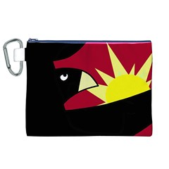 Eagle Canvas Cosmetic Bag (XL)