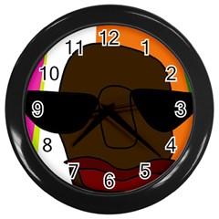 Cool Wall Clocks (Black)