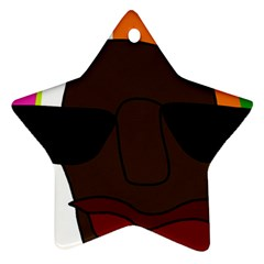 Cool Star Ornament (Two Sides)