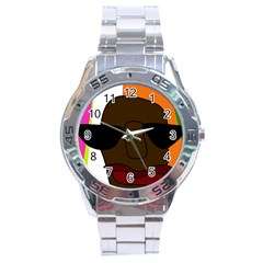 Cool Stainless Steel Analogue Watch