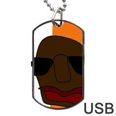 Cool Dog Tag USB Flash (Two Sides)