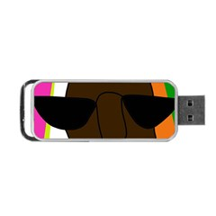Cool Portable USB Flash (Two Sides)