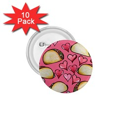 Taco Tuesday Lover Tacos 1 75  Buttons (10 Pack)