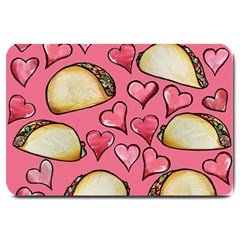 Taco Tuesday Lover Tacos Large Doormat