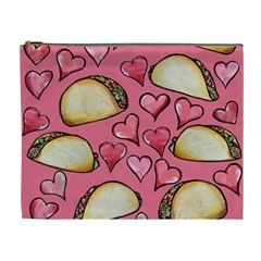 Taco Tuesday Lover Tacos Cosmetic Bag (XL)