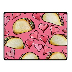 Taco Tuesday Lover Tacos Fleece Blanket (small)
