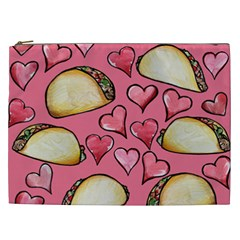 Taco Tuesday Lover Tacos Cosmetic Bag (XXL)