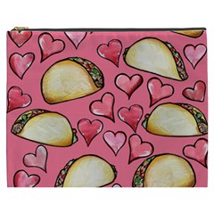 Taco Tuesday Lover Tacos Cosmetic Bag (XXXL)